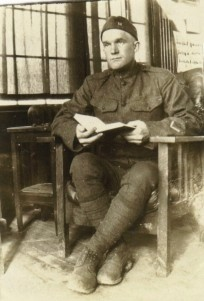 Daniel Lightner in WW1- 1917 - Hartford Michigan