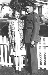 John S. Cade and sister-in-law Frances Hartman Cade
